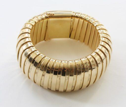 gold tubogaz bracelet
