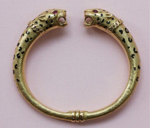 gold panthere bracelet