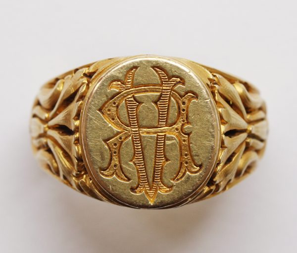 gold seal ring