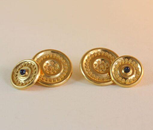 neo etruscan cufflinks