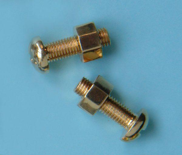 screw and nut cufflinks