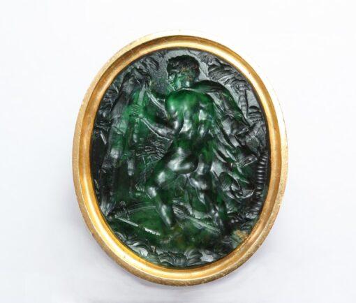 intaglio ring representing Theseus