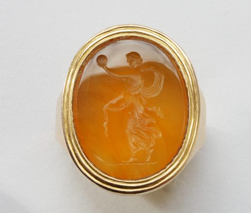 Fortuna intaglio ring