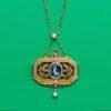 pendant with Terpsichore