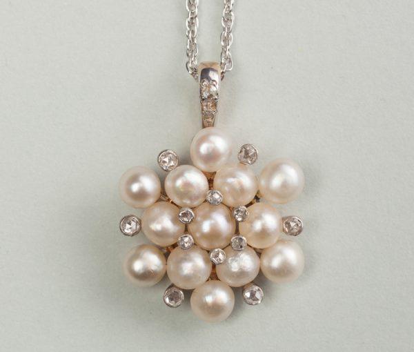 snowcrystal pendant