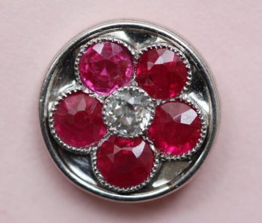 ruby and diamond dress set
