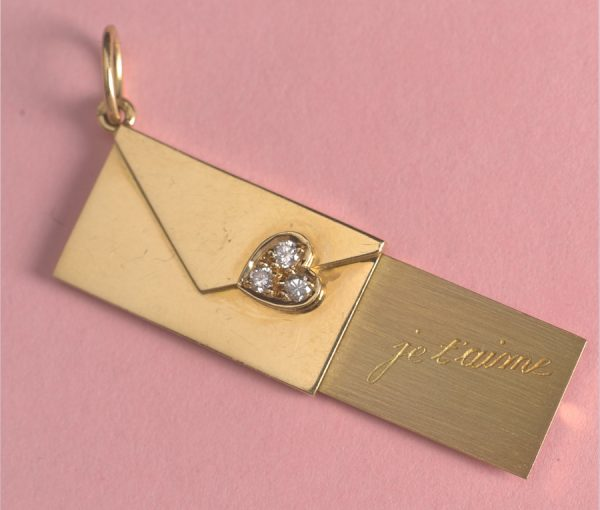 love letter charm
