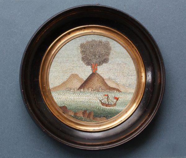 Vesuvio micro mosaic