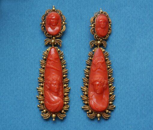 Amor & Psyche earrings