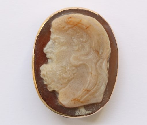 cameo of Hercules