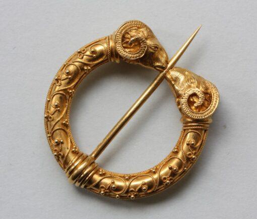 gold fibula