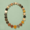 necklace with lava cameo's