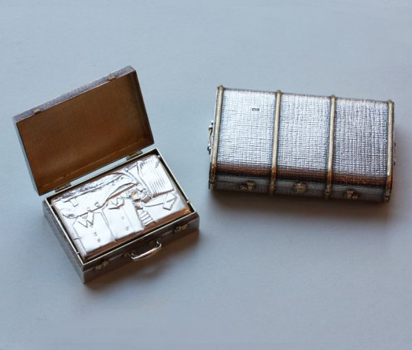 Miniature Luggage boxes