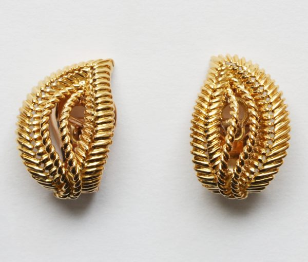 gold ear clips