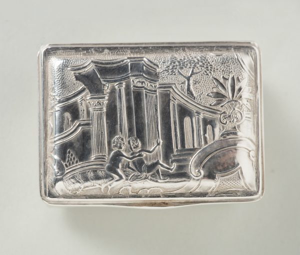 Amsterdeam silver snuffbox