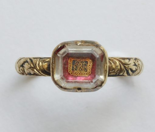 Stuart crystal ring