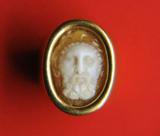 Hercules cameo ring