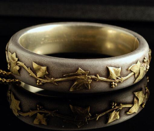 Art Nouveau ivy bracelet
