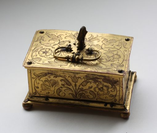16th century miniature casket