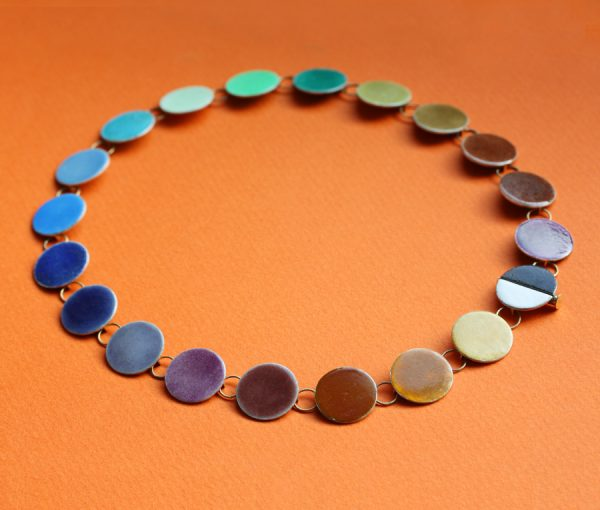 Palette necklace