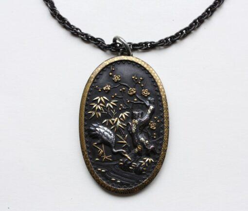shakudo pendant