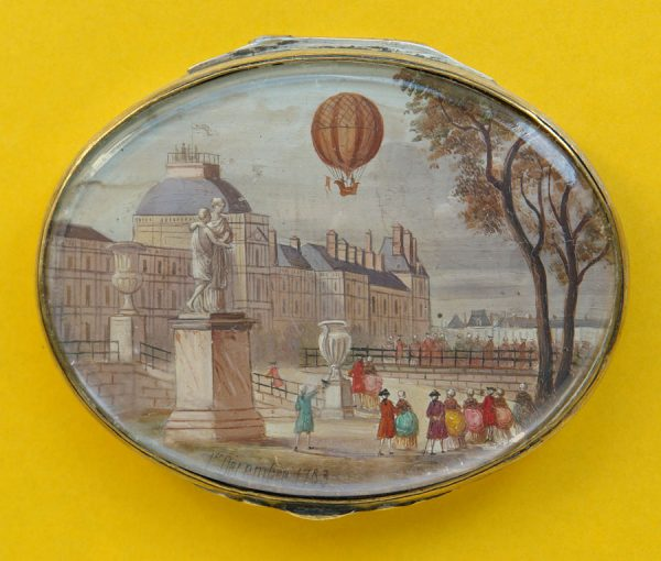 18th century snuff box