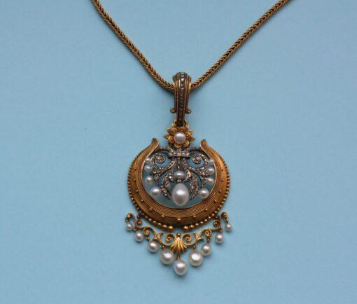 neoclassical pendant