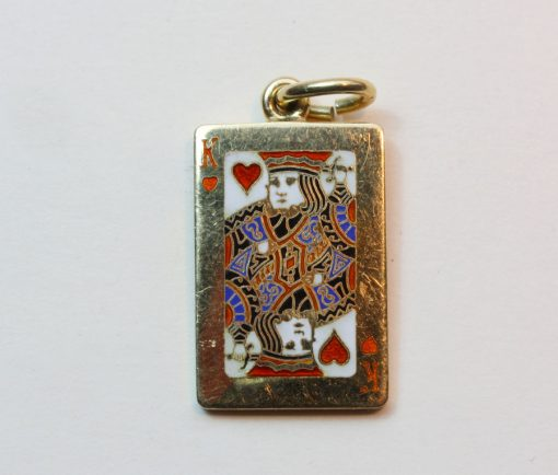 'King of Hearts' pendant