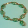 Jade pebble bracelet