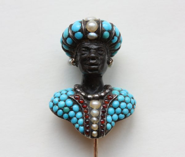 Blackamoor stickpin