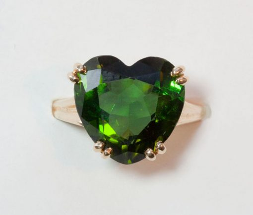 tourmaline heart ring