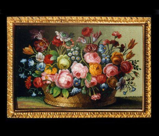 micromosaic flowerbasket