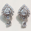 Indian taste diamond earrings