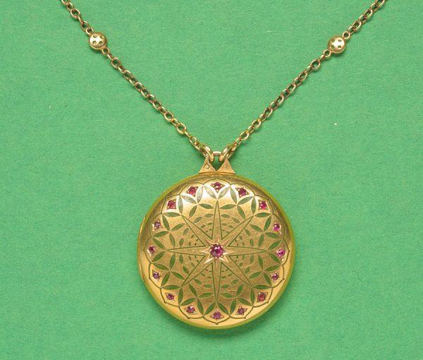 Dutch Art Nouveau pendant