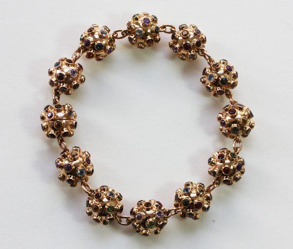 colorful sputnik bracelet