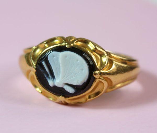 neo gothic ring