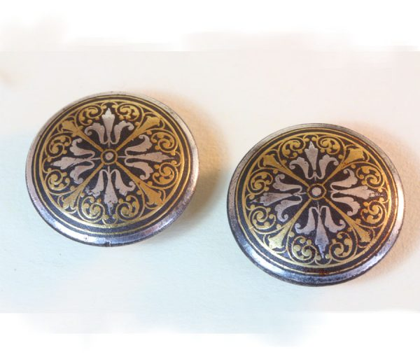 damascened cufflinks