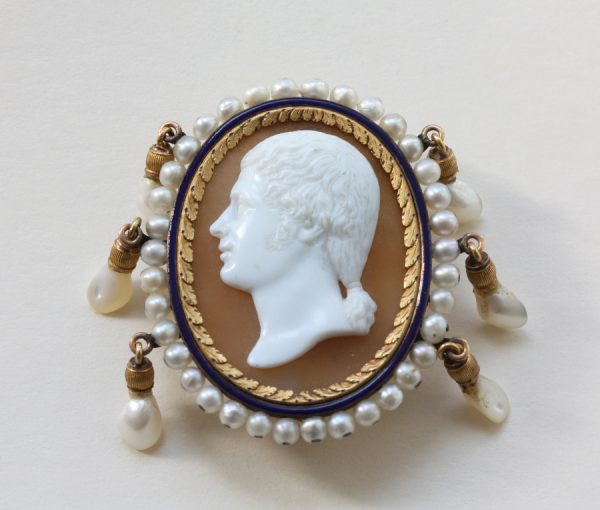Empire cameo brooch