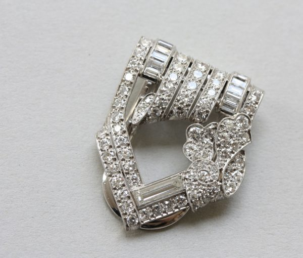 diamond dress clip