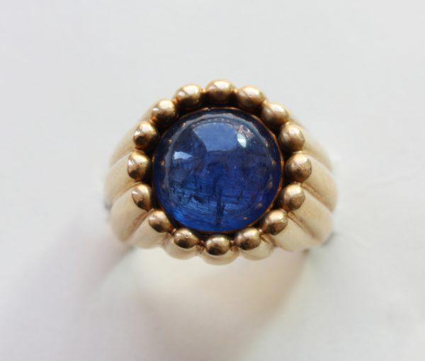 """sapphire """"Tartelette"""" ring"""