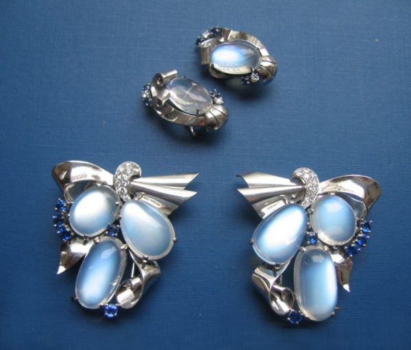 double dress clips & earclips