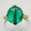 Moghul emerald bead ring
