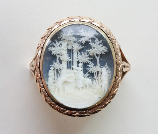 ivory miniature ring