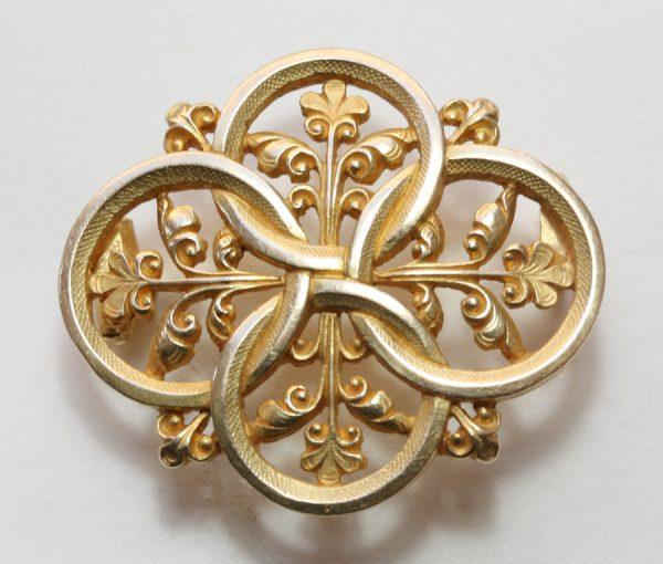 neo gothic brooch
