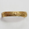 gold medieval ring