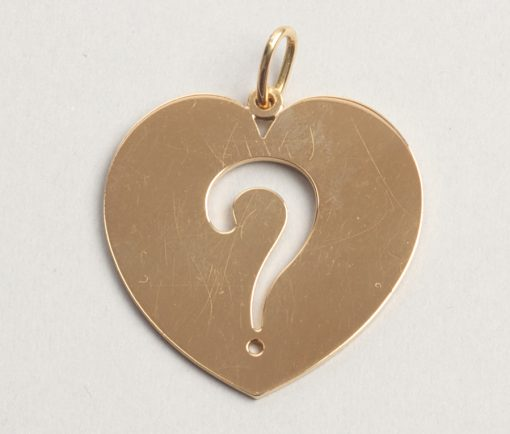 Do you love me? pendant