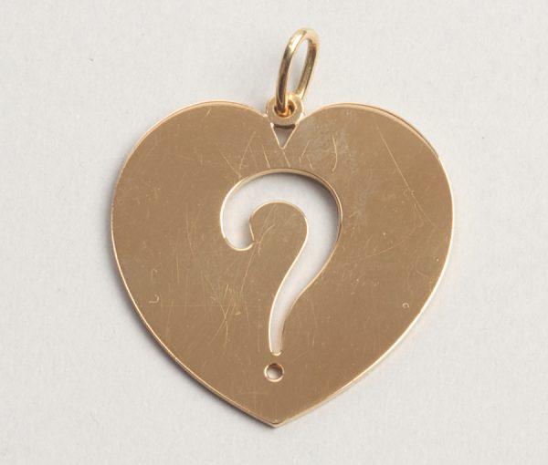 Do you love me? pendant