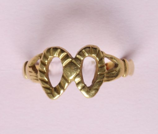 gold fede ring