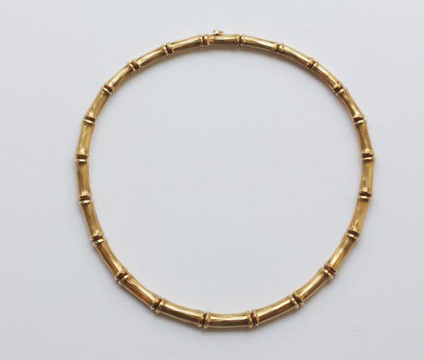 cartier bamboo necklace
