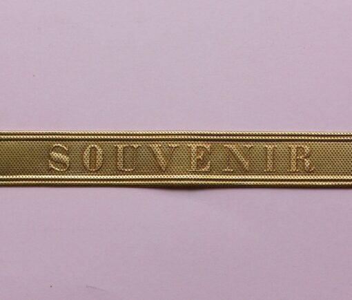 gold souvenir bracelet